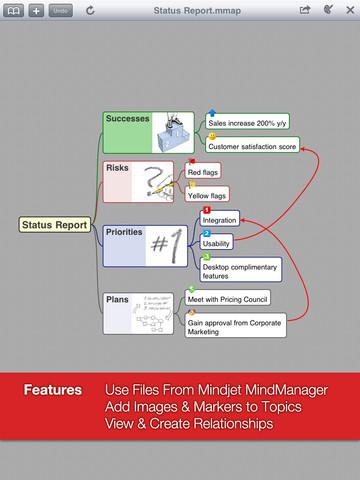 Mindmapping op een iPad