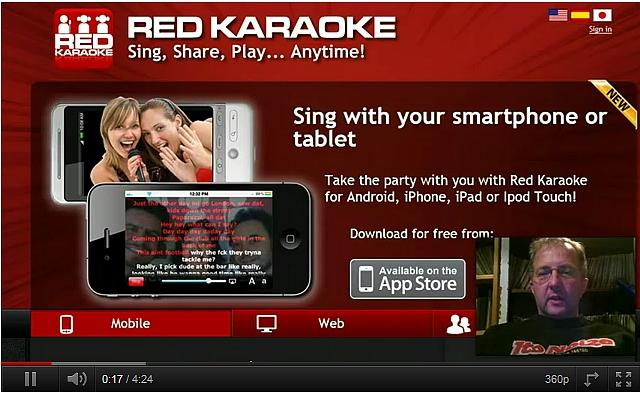 Meezingen met Red Karaoke