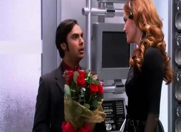 Raj wil Siri versieren
