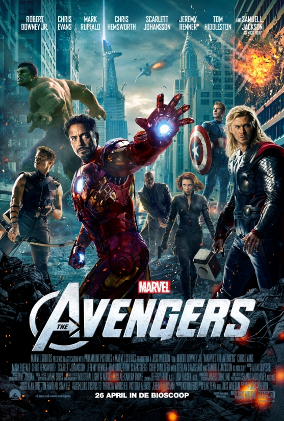 Nieuwe Avengers in bios