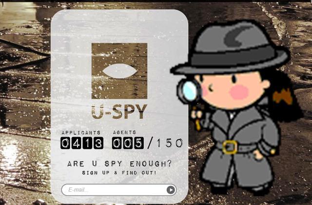U-Spy zoekt spionnen