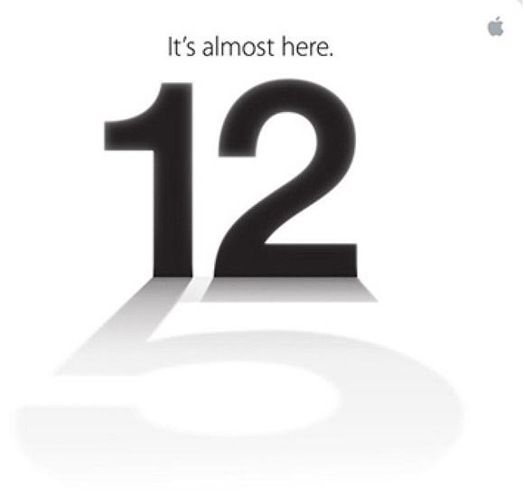Presentatie iPhone 5 live bekijken
