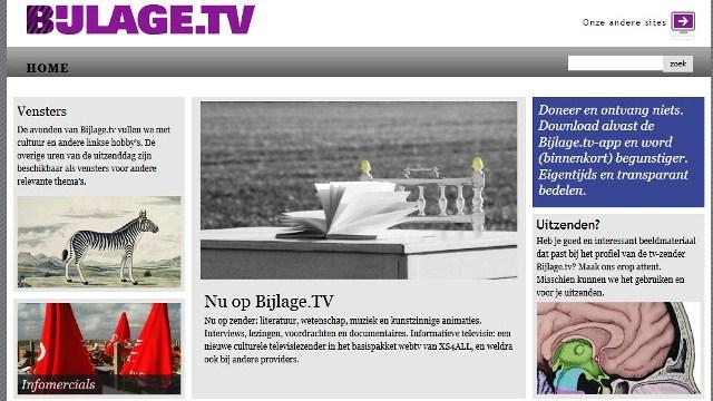 Bijlage.tv als 'linkse hobby'