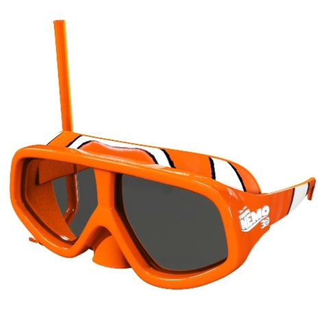 Finding Nemo Duik-3D bril