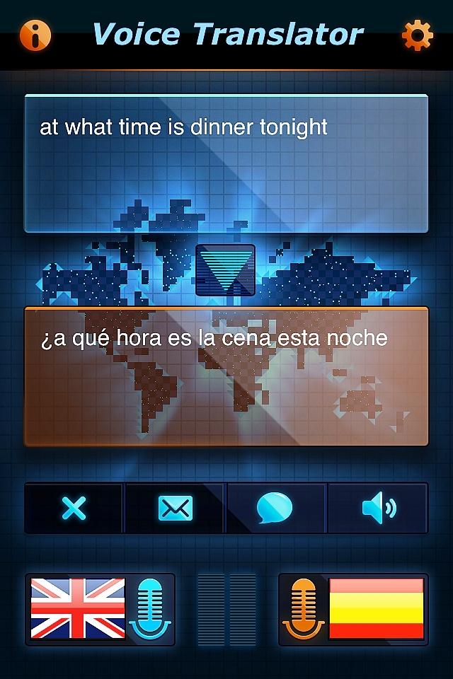 Vertaal-app voor 25 talen