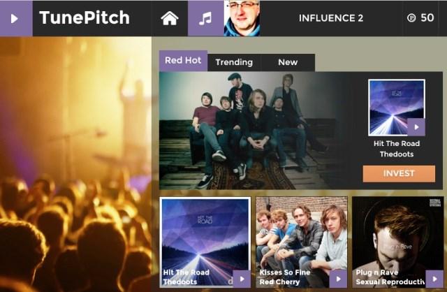 TunePitch beloont gebruikers voor voorspellen van hits