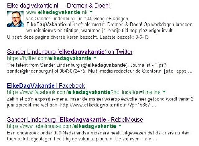Jouw foto bij Google zoekresultaten?